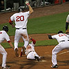 Oh, if only you could see Pedie's face in this one. But I had to use it to show Youk airborne!