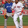 Not a great shot, but I didn't even notice Jonny Gomes' cleats until I was editing photos.