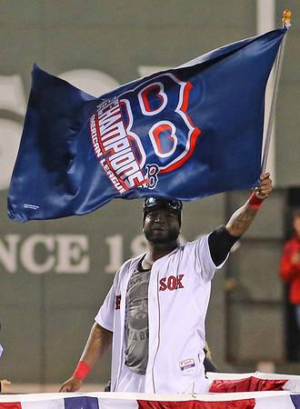 Red Sox, October 19, 2013