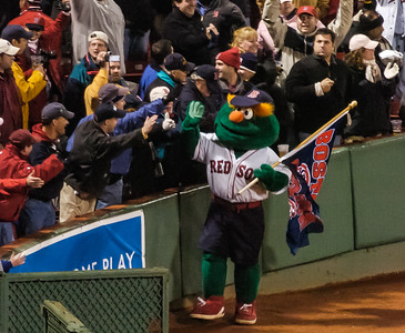 The Happiest Mascot in New England