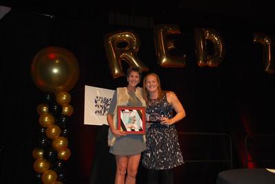 Maddie Monroe receiving award1