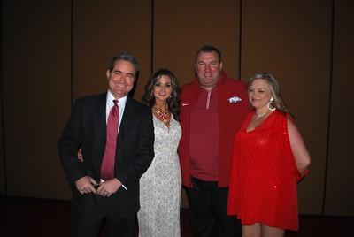 Jon and Judy Williams_Coach Bret Bielema_Loressa Wiltgen2