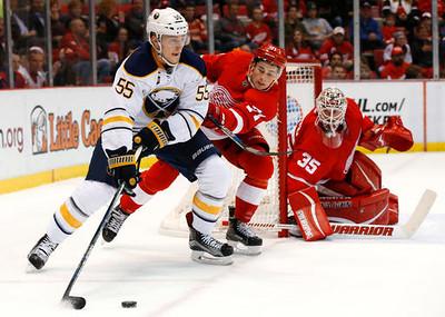 Sabres Red Wings Hockey
