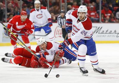 APTOPIX Canadiens Red Wings Hockey