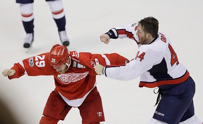 Capitals Red Wings Hockey