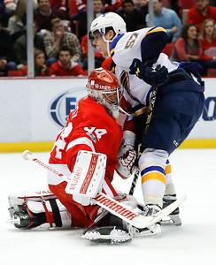 Blues Red Wings Hockey