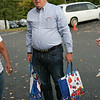 Yum! Brands CEO Greg Creed bringing in some canned goods.