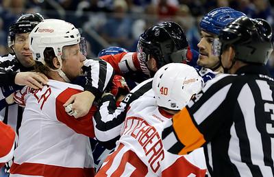 Red Wings Lightning Hockey