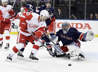 Red Wings Rangers Hockey