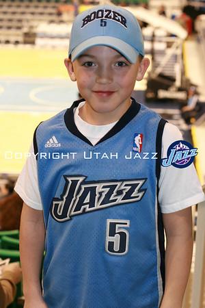 Jazz vs Bobcats Feb 02, 2009