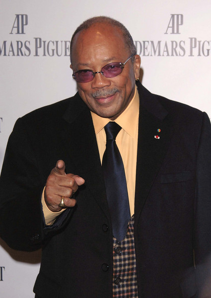 """Nov 13th, New York City,<br /> The one and only<br /> Mr. QUINCY JONES<br /> The Quincy Jones Foundation, Harvard School of Public Health&<br /> Audemars Piguet Celebrate the 2nd annual """"Q-Prize"""".<br /> (Credit Image: © Chris Kralik/KEYSTONE Press)"""