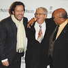 "Nov 13th, New York City,<br /> HOST FRANCOIS-HENRY BENNAHMIAS,<br /> MR. TONY WOODCOCK,President, New England Concervatory,<br /> MR.QUINCY JONES,<br /> The Quincy Jones Foundation, Harvard School of Public Health&<br /> Audemars Piguet Celebrate the 2nd annual ""Q-Prize"".<br /> (Credit Image: © Chris Kralik/KEYSTONE Press)"