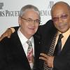 "Nov 13th, New York City,<br /> MR. TONY WOODCOCK,President, New England Concervatory<br /> MR.QUINCY JONES<br /> The Quincy Jones Foundation, Harvard School of Public Health&<br /> Audemars Piguet Celebrate the 2nd annual ""Q-Prize"".<br /> (Credit Image: © Chris Kralik/KEYSTONE Press)"