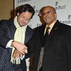 "Nov 13th, New York City,<br /> Francois-Henry Bennahmias<br /> presents the watch to<br /> Mr. QUINCY JONES<br /> The Quincy Jones Foundation, Harvard School of Public Health&<br /> Audemars Piguet Celebrate the 2nd annual ""Q-Prize"".<br /> (Credit Image: © Chris Kralik/KEYSTONE Press)"