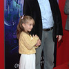 Sept. 28th, 2008 - New York, NY, USA - SLEEPING BEAUTY, 50th Anniversary <br /> Brian d'Arcy James, and daughter Grace<br /> (Credit Image: © Chris Kralik/KEYSTONE Press)