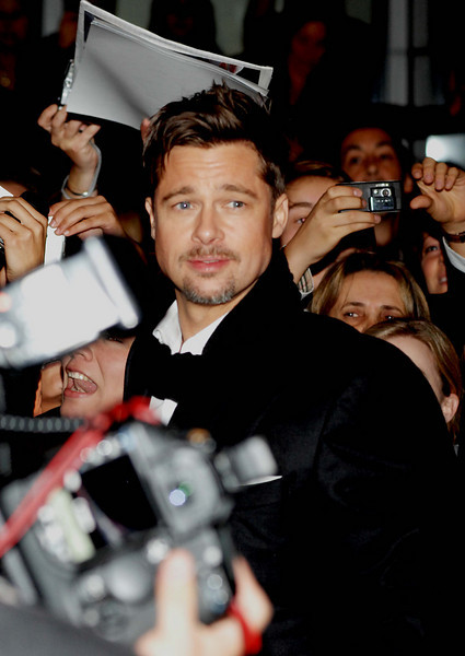 Oct. 4th, 2008, Premiere of 'THE CHANGELING'<br /> Brad Pitt and Angelina Jolie greet fans outside theater<br /> (Credit Image: © Chris Kralik/KEYSTONE Press)Oct. 4th, 2008, Premiere of 'THE CHANGELING', directed by Clint Eastwood<br /> Brad Pitt and Angelina Jolie greet fans outside theater<br /> (Credit Image: © Chris Kralik/KEYSTONE Press)