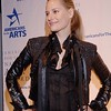 Oct. 6th, 2008 National Arts Awards,<br /> Para-Olympic athelete and Matthew Barney muse,Aimee Mullins, guest, wears a striking leather outfit on 5 inch stiletto heeled boots<br /> (Credit Image: © Chris Kralik/KEYSTONE Press)