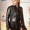 Oct. 6th, 2008 National Arts Awards,<br /> Aimee Mullins, guest, wears a striking leather outfit on 5 inch stiletto heeled boots<br /> (Credit Image: © Chris Kralik/KEYSTONE Press)