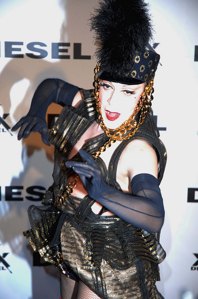 Oct. 10th, 2008,Diesel xXx-30th anniversary celebration ,<br />  No New York party is complete without outrageous host JOEY ARIAS<br /> Credit Image: © Chris Kralik/KEYSTONE Press)