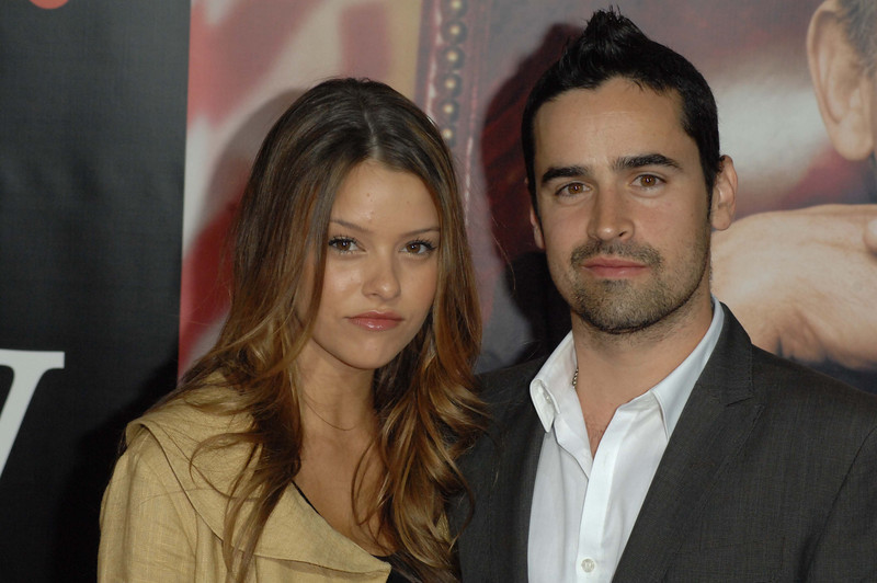 "Oct. 14th, 2008, ""W."" The World Premiere,<br /> TARA RETES & JESSE BRADFORD  <br /> On the Red Carpet<br /> (Credit Image: © Chris Kralik/KEYSTONE Press)"