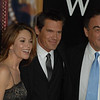 "Oct. 14th, 2008, ""W."" The World Premiere,<br /> DIANE LANE, JOSH BROLIN WITH DIRECTOR OLIVER STONE  <br /> On the Red Carpet<br /> (Credit Image: © Chris Kralik/KEYSTONE Press)"