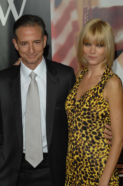 """Oct. 14th, 2008, """"W."""" The World Premiere,<br /> Producer BILL BLOCK with fabulous guest  <br /> On the Red Carpet<br /> (Credit Image: © Chris Kralik/KEYSTONE Press)"""