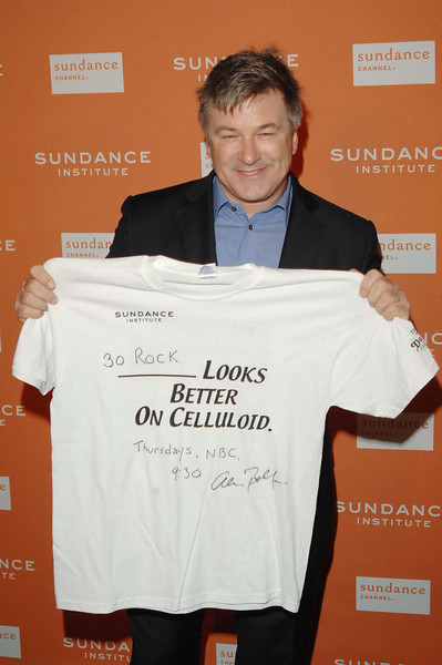 Oct. 27th,New York City,<br /> actor  ALEC BALDWIN<br /> arrives at the Sundance Celebration<br /> (Credit Image: © Chris Kralik/KEYSTONE Press)