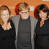 Oct. 27th,New York City,<br /> AMY REDFORD,Sundance founder ROBERT REDFORD,and SYBELLE SZAGGERS<br /> arrive at the Sundance Celebration<br /> (Credit Image: © Chris Kralik/KEYSTONE Press)