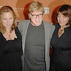 Oct. 27th,New York City,<br /> AMY REDFORD,Sundance founder ROBERT REDFORD,and SYBELLE SZAGGERS<br /> arrives at the Sundance Celebration<br /> (Credit Image: © Chris Kralik/KEYSTONE Press)