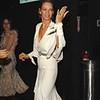 Oct. 30th,New York City,<br /> Fabulous Uma Thurman<br /> bids the paparazzi farewell<br /> (Credit Image: © Chris Kralik/KEYSTONE Press)