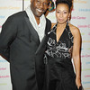 Oct. 30th,New York City,<br /> Tamara Tunie<br /> and Jazz vocalist<br /> Ron Arnell<br /> (Credit Image: © Chris Kralik/KEYSTONE Press)