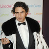 Oct. 30th,New York City,<br /> Zac Posen<br /> arrives in an ermine cape of his own design<br /> (Credit Image: © Chris Kralik/KEYSTONE Press)