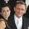 Nov 11th, New York City,<br /> The lovely Satsuki Mitchell<br /> and stoic Daniel Craig at the <br /> Tribeca Film Institute Benefit <br /> with special screening of <br /> Quantum of Solace<br /> (Credit Image: © Chris Kralik/KEYSTONE Press)