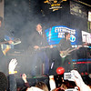 Nov 16th, New York City,<br /> Fall Out Boy rocks Times Square during the last episode.<br /> The landmark show 'TRL' celebrated its last show with its closest <br /> friends, Justin Timberlake, Sean 'Puffy' Combs, 50 cent, Fallout Boy, Nelly and Ludacris.<br /> (Credit Image: © Chris Kralik/KEYSTONE Press)