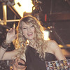 Nov 16th, New York City,<br /> Country Star Taylor Swift peers down on Times Square from the MTV studios.<br /> The landmark show 'TRL' celebrated its last show with its closest <br /> friends, Justin Timberlake, Sean 'Puffy' Combs, 50 cent, Fallout Boy, Nelly and Ludacris.<br /> (Credit Image: © Chris Kralik/KEYSTONE Press)