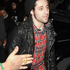 Nov 16th, New York City,<br /> Joe Trohman of Fall Out Boy,<br /> The landmark show 'TRL' celebrated its last show with its closest <br /> friends, Justin Timberlake, Sean 'Puffy' Combs, 50 cent, Fallout Boy, Nelly and Ludacris.<br /> (Credit Image: © Chris Kralik/KEYSTONE Press)