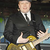 Nov 16th, New York City,<br /> Patrick Stump of Fall Out Boy,<br /> describes the girls in Times Square.<br /> The landmark show 'TRL' celebrated its last show with its closest <br /> friends, Justin Timberlake, Sean 'Puffy' Combs, 50 cent, Fallout Boy, Nelly and Ludacris.<br /> (Credit Image: © Chris Kralik/KEYSTONE Press)
