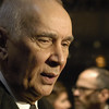 Nov 17th, New York City,<br /> Actor Frank Langella,<br /> Frost/Nixon premiere in NYC, directed by Ron Howard<br /> (Credit Image: © Chris Kralik/KEYSTONE Press)