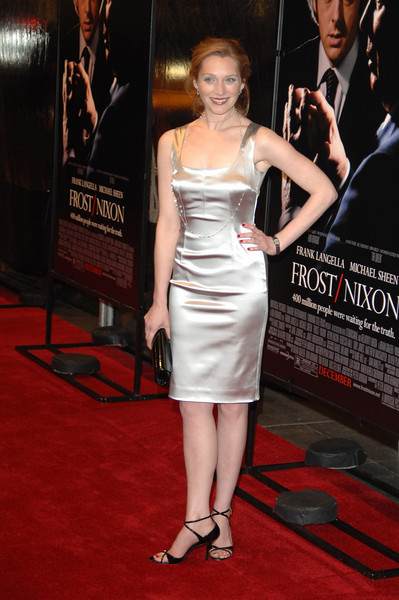 Nov 17th, New York City,<br /> Actress Kate Jennings Grant attends the <br /> Frost/Nixon premiere in NYC, directed by Ron Howard<br /> (Credit Image: © Chris Kralik/KEYSTONE Press)