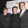 Nov 18th, New York City,<br /> Director Gus Van Sant.<br /> Cleve Smith.<br /> and Stuart Milk<br /> attend the New York Premiere of Milk, starring Sean Penn, directed by Gus Van Zant.<br /> (Credit Image: © Chris Kralik/KEYSTONE Press)
