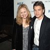 Nov 18th, New York City,<br /> Actress Alison Pill and Emile Hirsch<br /> attend the New York Premiere of Milk, starring Sean Penn, directed by Gus Van Zant.<br /> (Credit Image: © Chris Kralik/KEYSTONE Press)