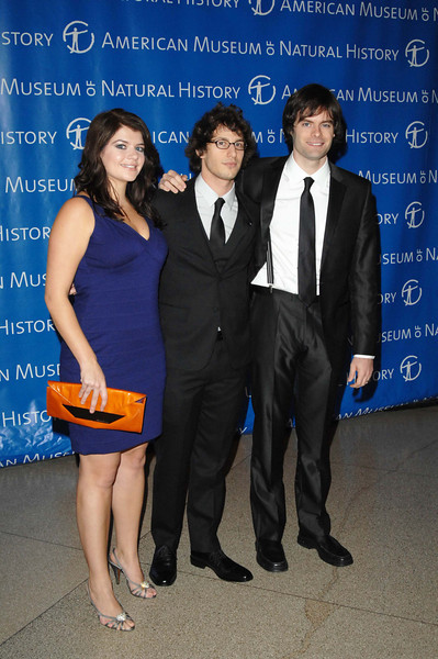 Nov 20th, 2008, New York City,<br /> Casey Wilson,<br /> Andy Samberg<br /> and Bill Hader of SNL<br /> attend <br /> The Museum Gala at the American Museum of Natural History<br /> (Credit Image: © Chris Kralik/KEYSTONE Press)