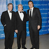 Nov 20th, 2008, New York City<br /> Lorne Michaels(c), and Jimmy Fallon(r) with gala chair<br /> at<br /> The Museum Gala at the American Museum of Natural History<br /> (Credit Image: © Chris Kralik/KEYSTONE Press)