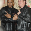 Dec. 2nd, 2008, New York City,<br /> Darryl McDaniels of RUN/DMC<br /> rocks out with <br /> CJ Ramone<br /> attends the Rock and Roll Hall of Fame Annex Opening Gala<br /> (Credit Image: © Chris Kralik/KEYSTONE Press)