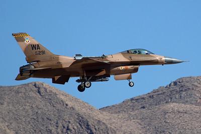United States Air Force General Dynamics F-16C 86-0291 7-201-6