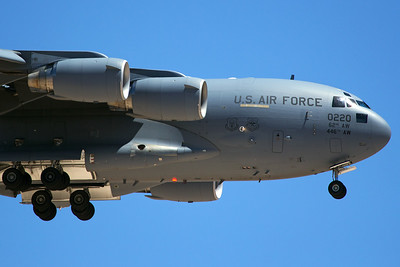 United States Air Force Boeing C-17A 10-0020 7-20-16
