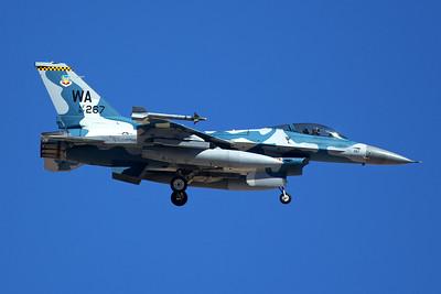 United States Air Force General Dynamics F-16C 87-0267 7-20-16