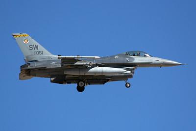United States Air Force Lockheed Martin F-16CM 01-7051 7-20-16