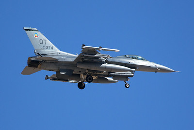 United States Air Force General Dynamics F-16CM 91-0374 7-20-16