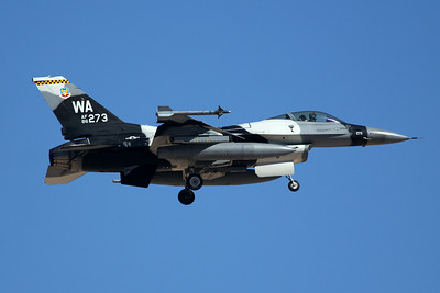 United States Air Force General Dynamics F-16C 86-0273 7-20-16
